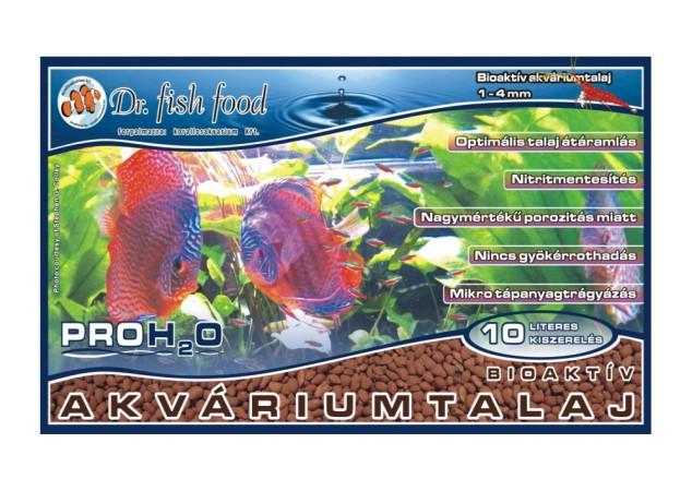 Dr. Fishfood PRO H2O Bioaktiv akváriumtalaj 10 literes