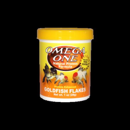 Omega One Goldfish Flakes /28gramm/ - haleledel