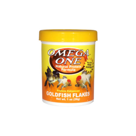 Omega One Goldfish Flakes /28gramm/