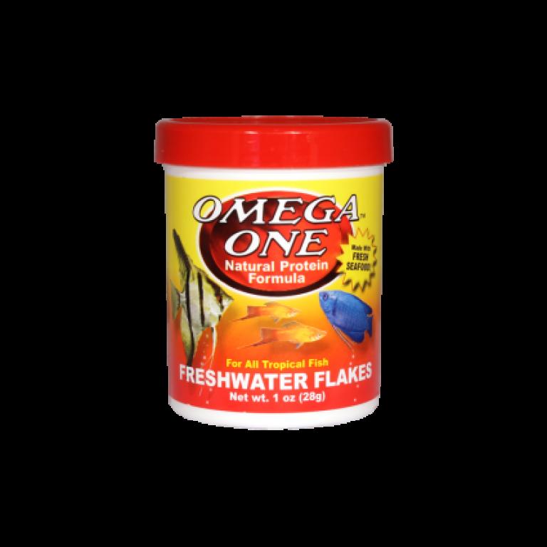 Omega One Freshwater Flakes /28 gramm/ - Akváriumi haleledel