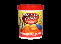 Omega One Freshwater Flakes /148 gramm/ - Akváriumi haleledel
