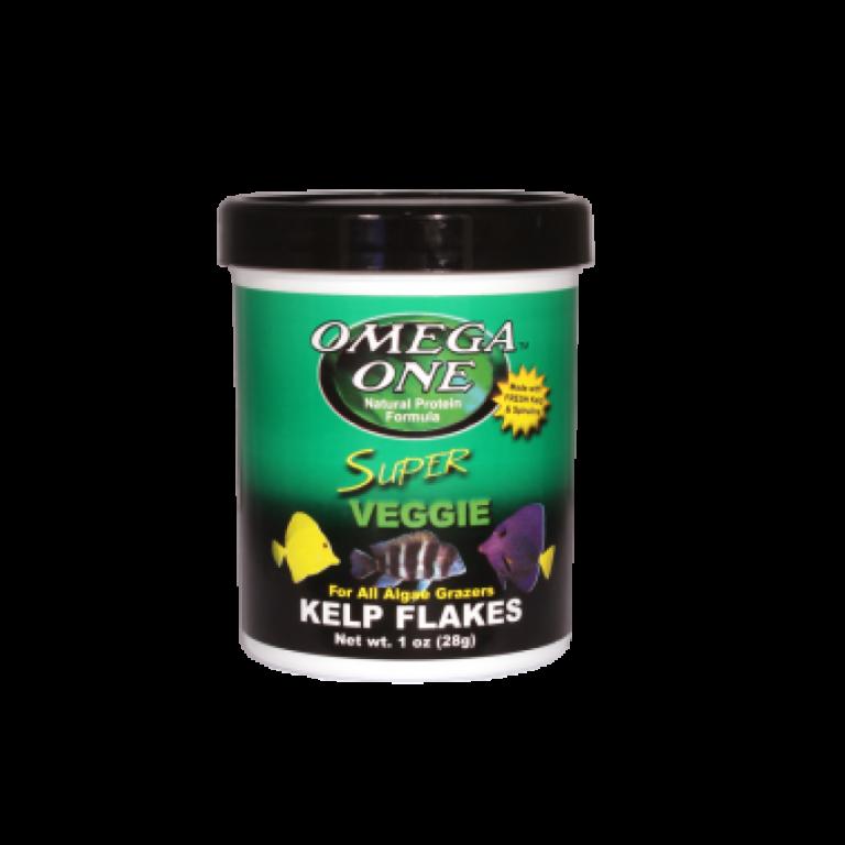 Omega One Kelp Flakes /28 gramm/ lemezes haleledel