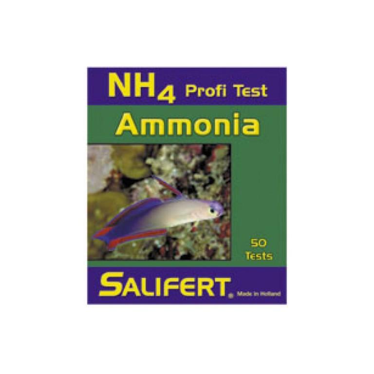 Salifert ammónia teszt