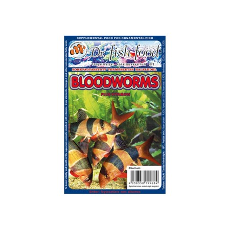 Dr. Fishfood Fagyasztott Vörösszúnyog lárva 100g