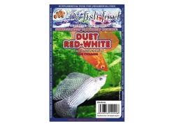 Dr. Fishfood Fagyasztott Duett Vörös- Fehérszúnyog lárva 100g