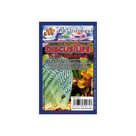 Dr. Fishfood Fagyasztott DiscusLife TH500 Fokhagymás (Tenger gyümölcsei) 500g