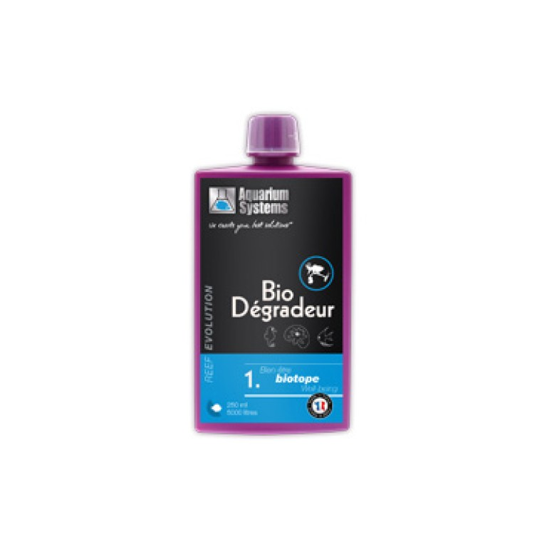 Aquarium Systems Reef Evolution Bio Degradeur 250ml