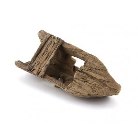 Terracotta Art Hajó roncs L méret - kerámia