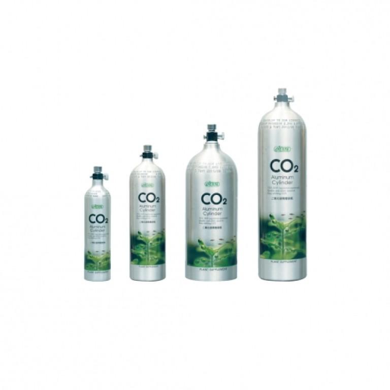 ISTA - Alumínium CO2 palack 2 Liter