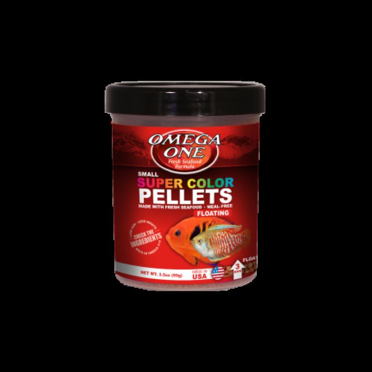Omega One - Super Color Pellets / 182 gramm/ - Akváriumi haleledel