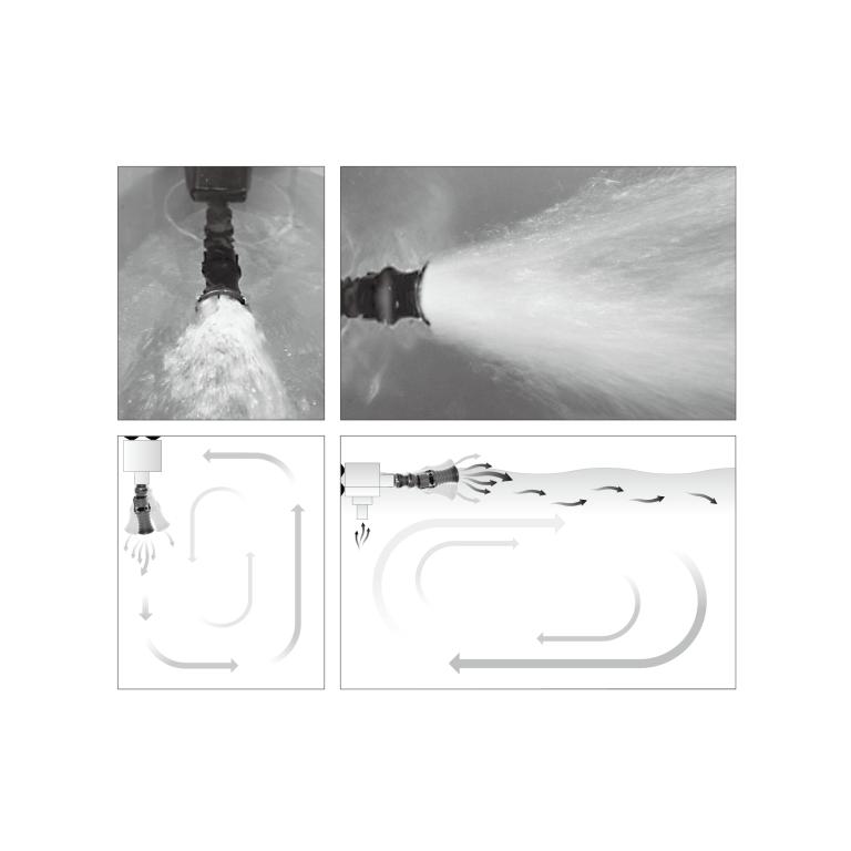 ISTA - Vortex Water Flow Accelerator 3/4