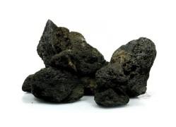 Fekete láva Akváriumi dekorációs kő
