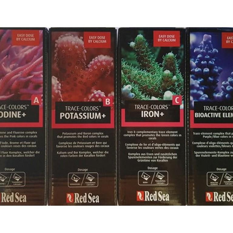 RED SEA - Trace Colors A (Jod/Halogene) színfokozó nyomelem