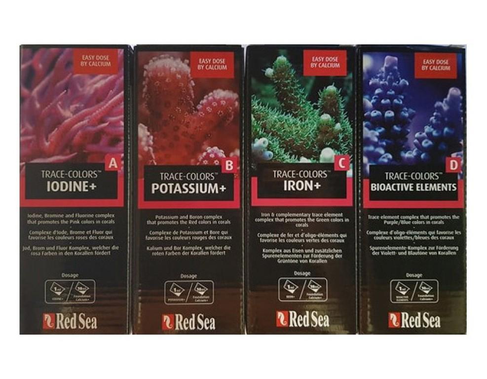 RED SEA - Trace Colors D (Spurenelemente) színfokozó nyomelem