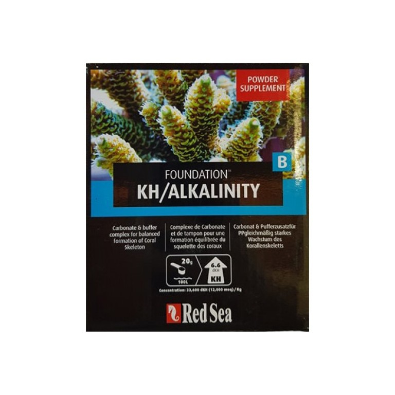 A RED SEA - Reef Foundation B (Alk) complete – 1 kg nyomelem