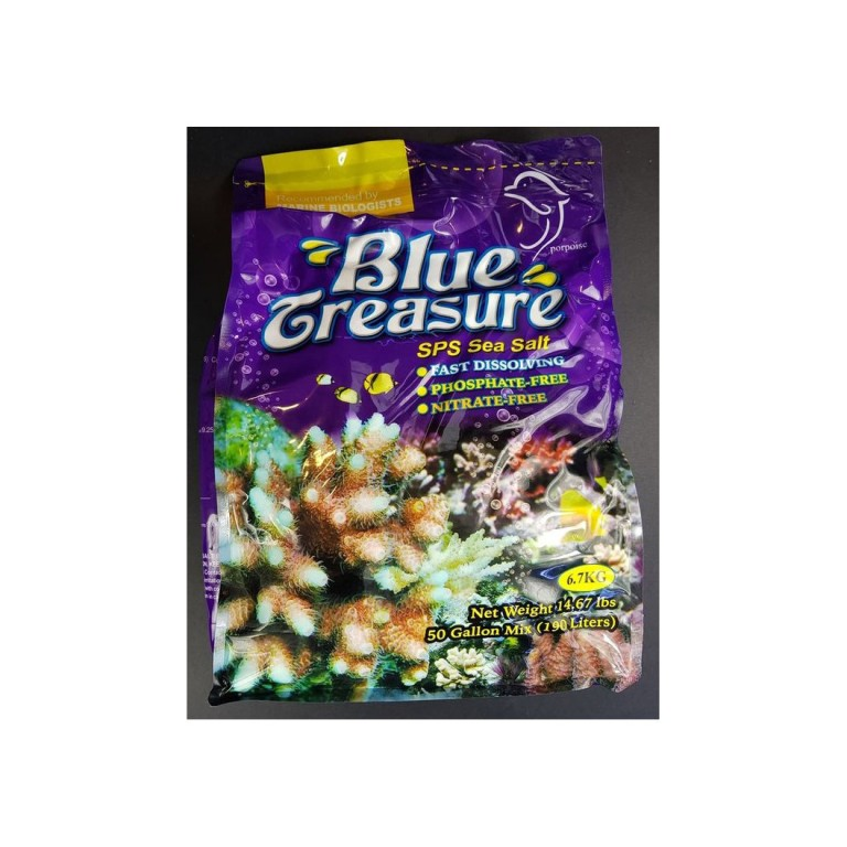 Blue Treasure SPS Sea Salt - tengeri só 6,7kg